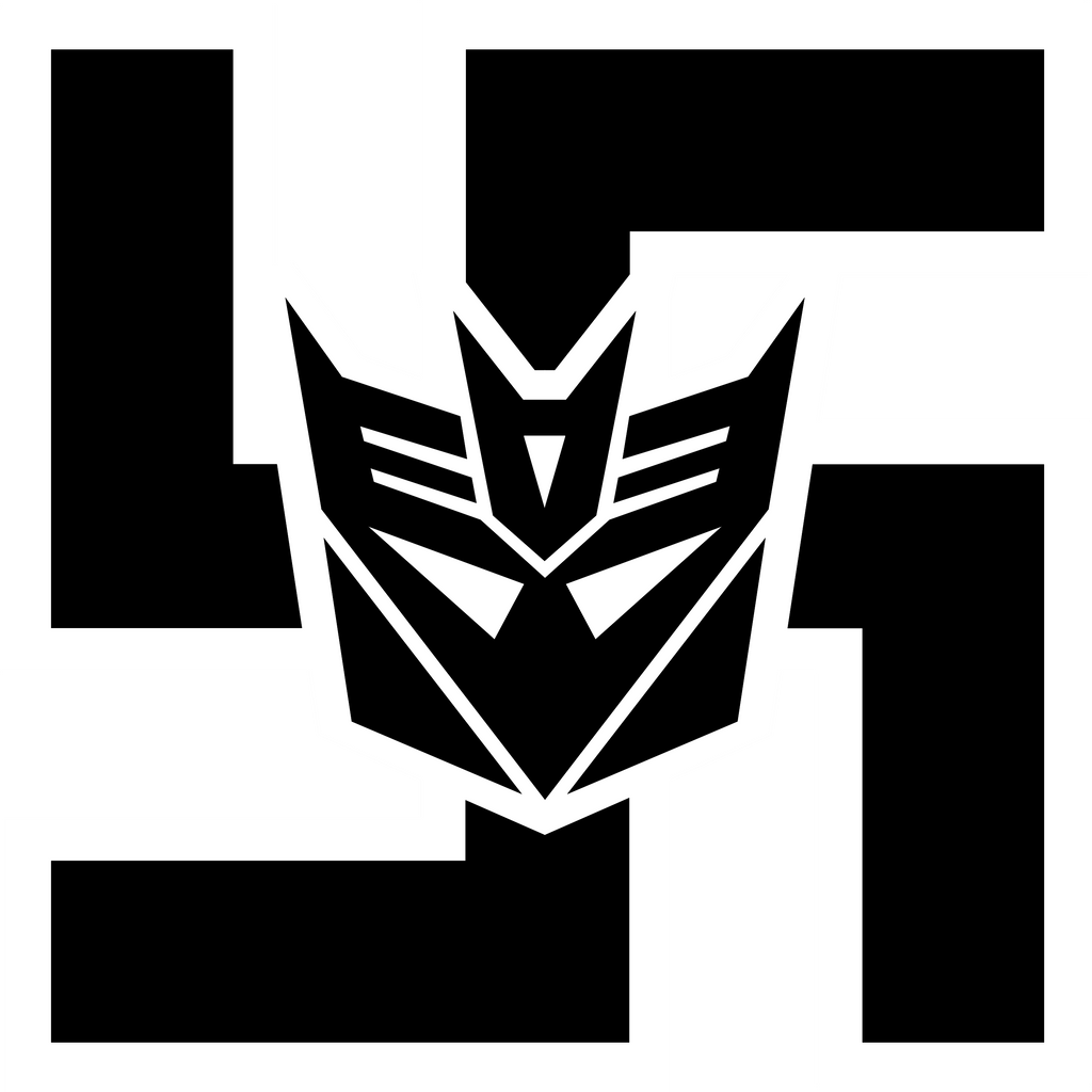 Decepticon Logo Black Axis Decepticon...