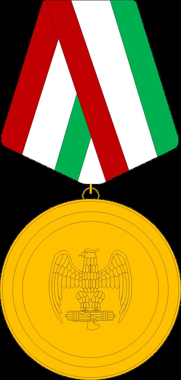 WW2 Italian Fascist Eagle Medal by JMK-Prime