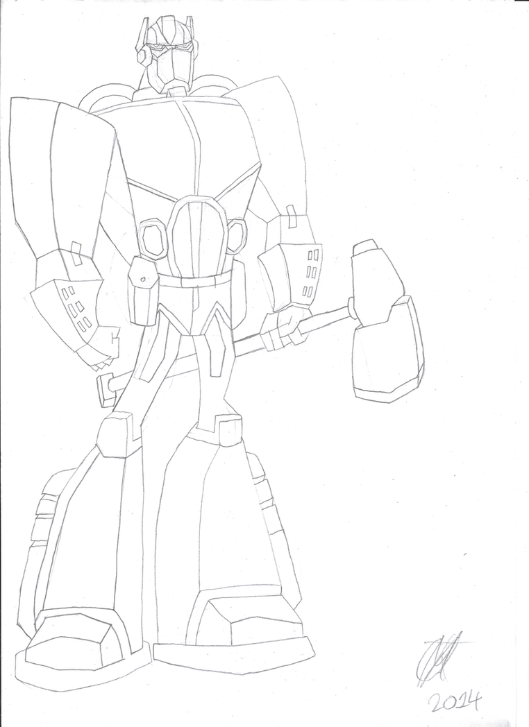 WW2 TFA Optimus Prime by JMK-Prime