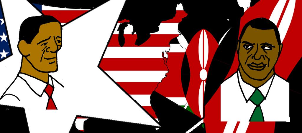 Obama Kenyatta by JMK-Prime
