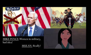 Pence on Women in the Military