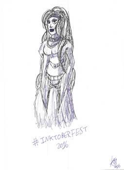 Inktoberfest: Princess Mirabelle