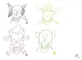 Skullcrew Icons (Pencil) Page 3