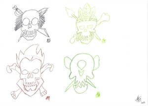 Skullcrew Icons (Pencil) Page 3