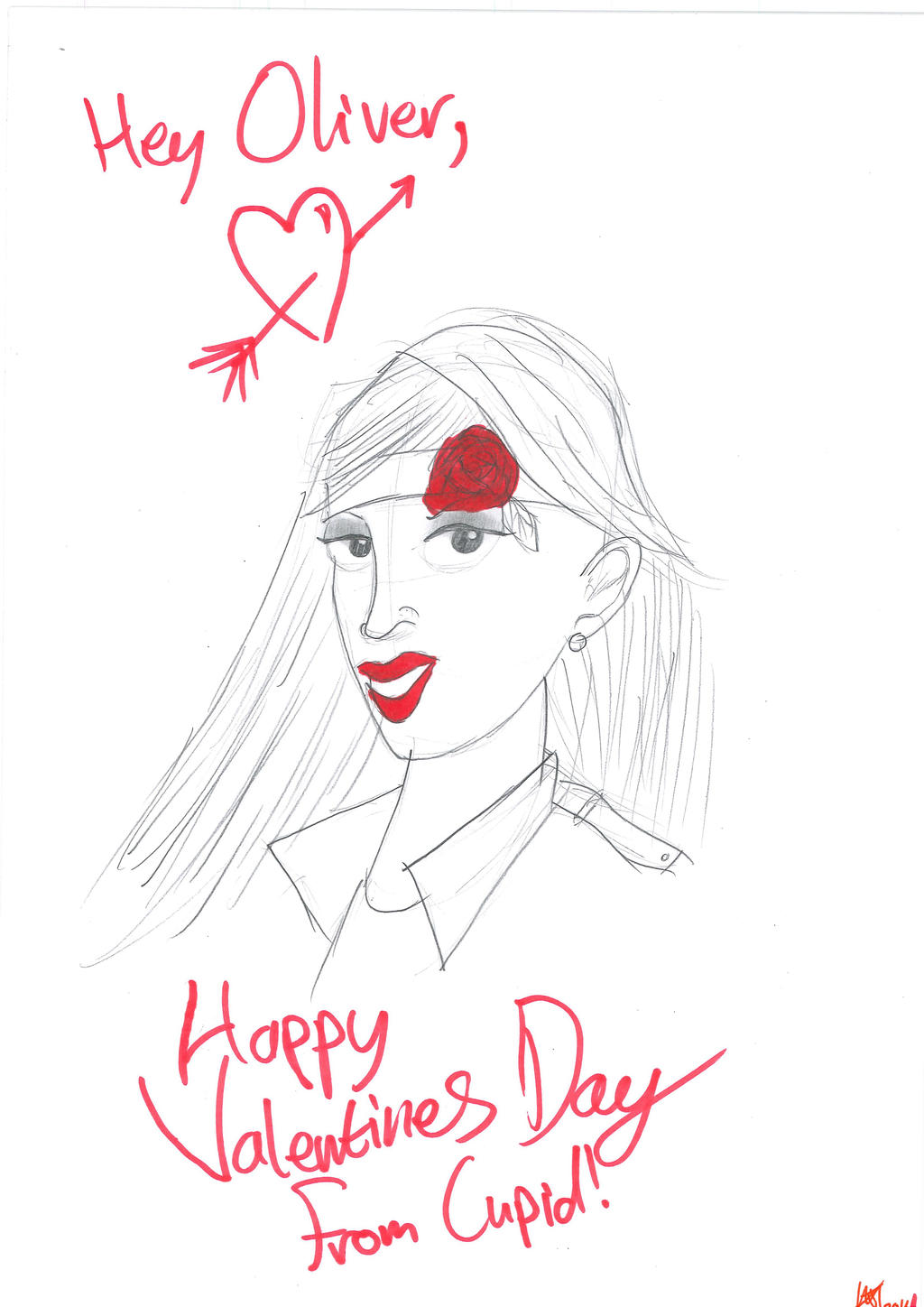 Valentines Day from DC Cupid by JMK-Prime