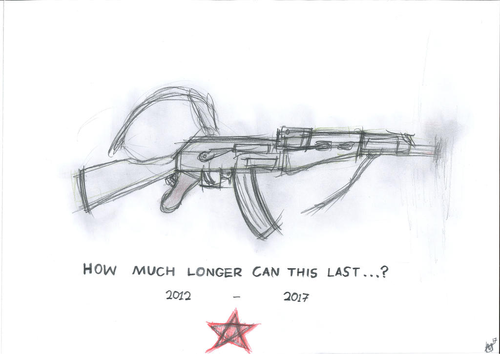 Six Year Syrian War by JMK-Prime