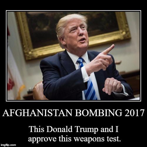 Trump on Afghan Bombing by JMK-Prime