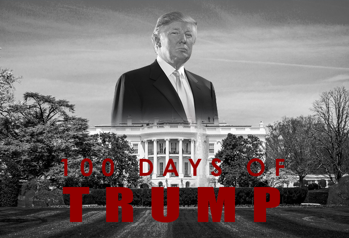 100 Days of Trump by JMK-Prime