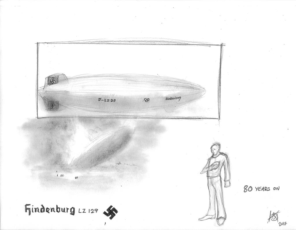Hindenburg Disaster 80 years ago by JMK-Prime