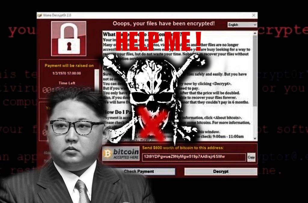 Wannacry randsomware by JMK-Prime