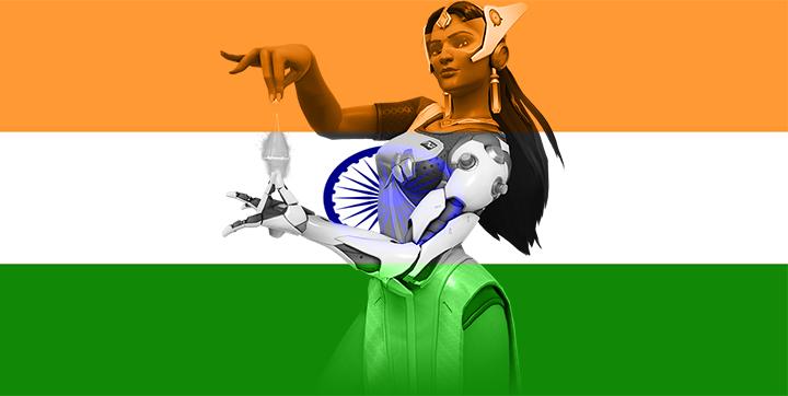 India - Symmetra by JMK-Prime