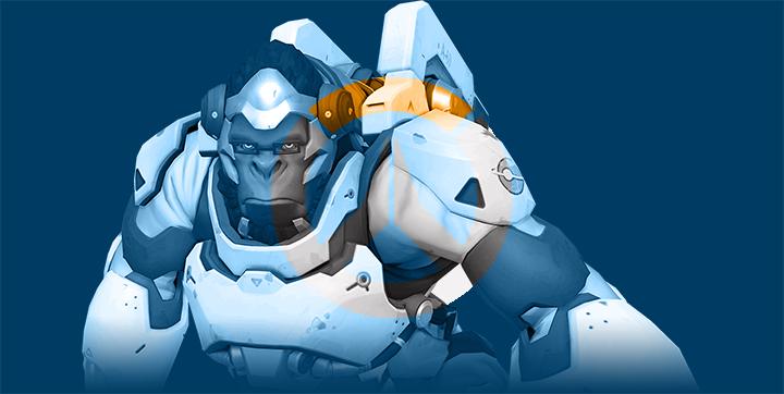 Overwatch - Winston by JMK-Prime
