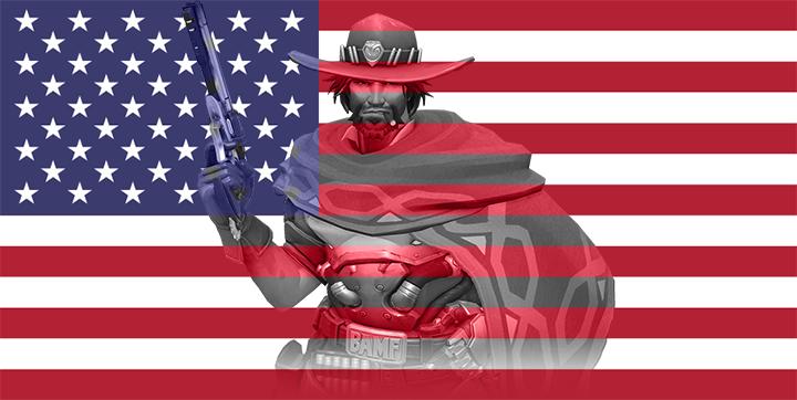 USA - Mccree by JMK-Prime
