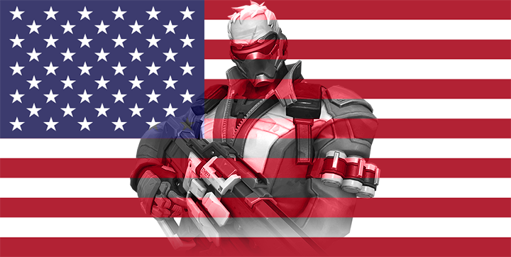 USA - Soldier 76 by JMK-Prime