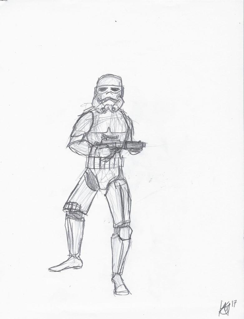 Imperial Stormtrooper by JMK-Prime