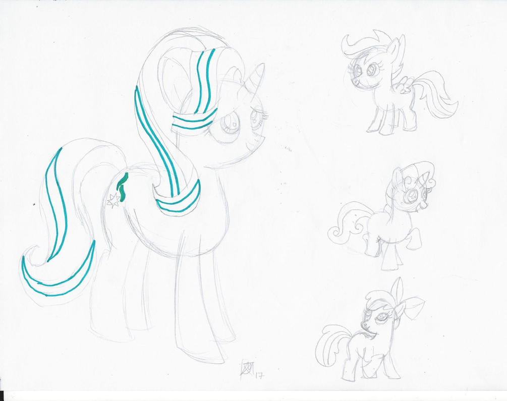 MLP - Sketch Dump by JMK-Prime
