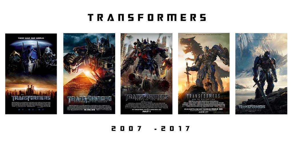 Transformers 2007 - 2017 by JMK-Prime