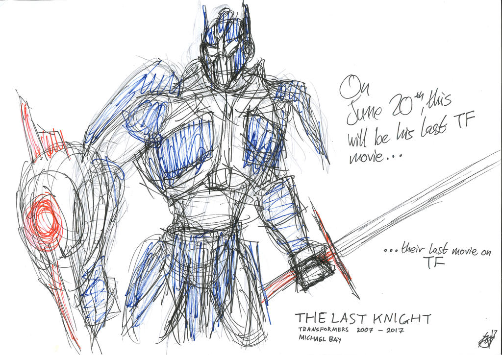 The Last Knight-Optimus Prime (Michael Bay's last) by JMK-Prime