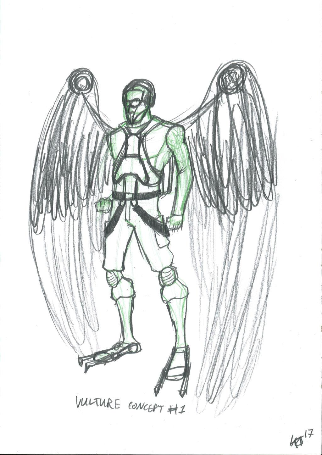 Vulture concept by JMK-Prime