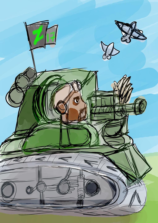 Deviantart 17 Tank by JMK-Prime