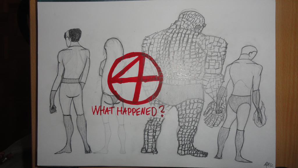 What happened to the Fantastic 4 ? by JMK-Prime