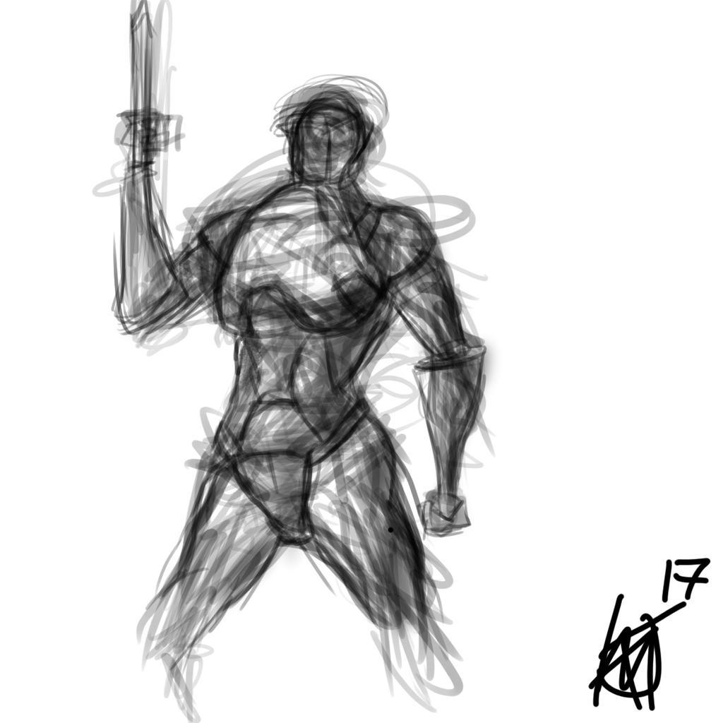 Random armor sketch by JMK-Prime