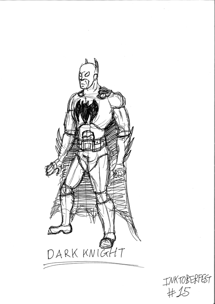 The Dark Knight by JMK-Prime