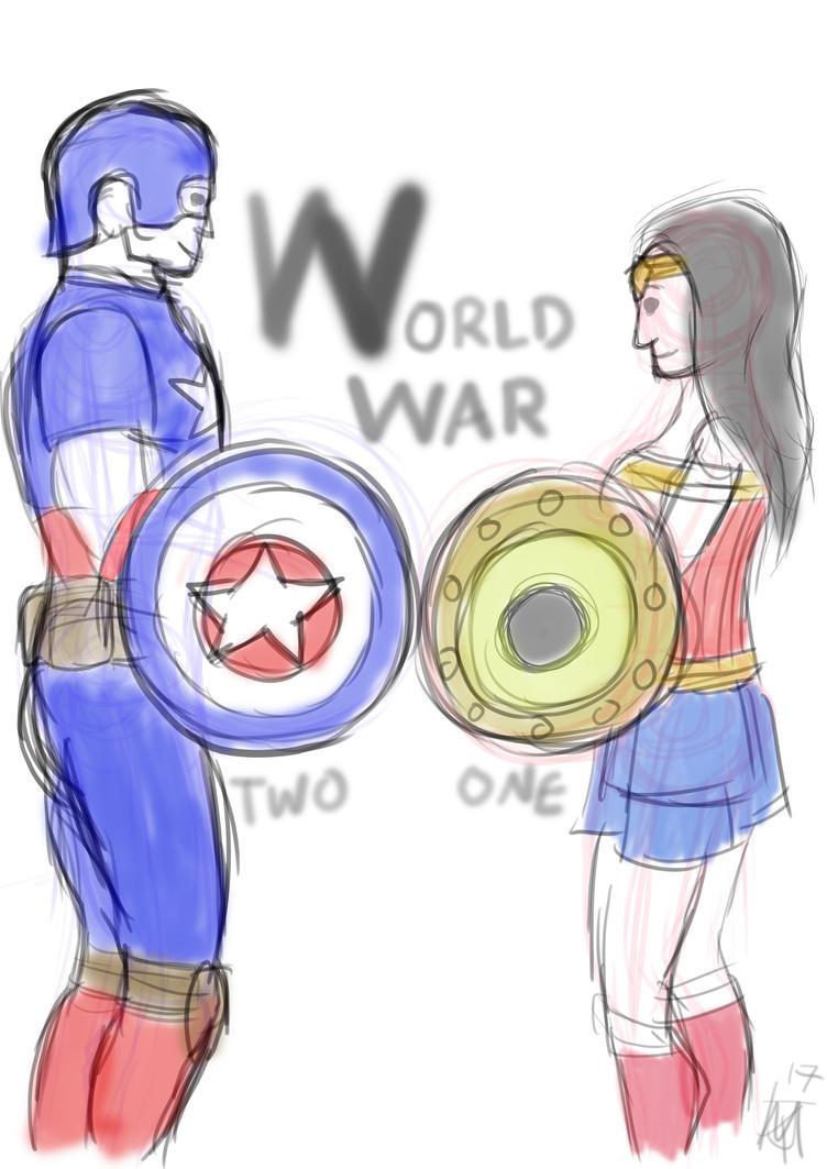 World War Comicbook heroes by JMK-Prime