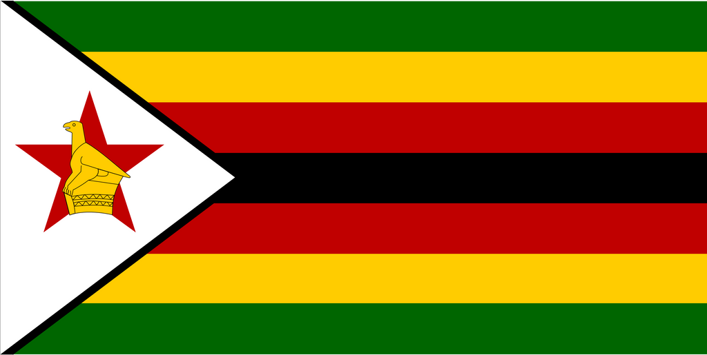Flag of Zimbabwe by JMK-Prime