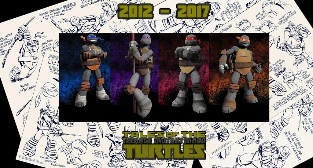TMNT 2012 - 2017 by JMK-Prime