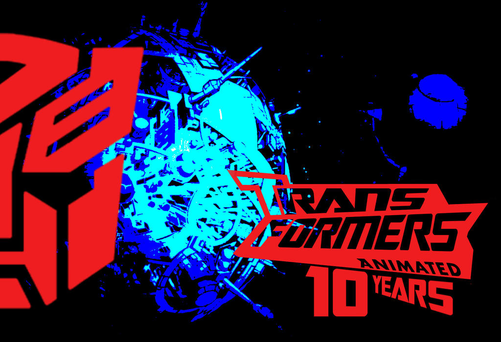 Transformers Animated 10 Year Tribute by JMK-Prime