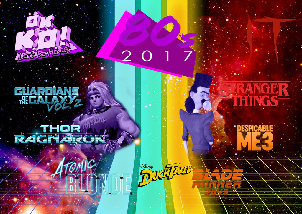 2017 Year of the 80's Nostalgia by JMK-Prime