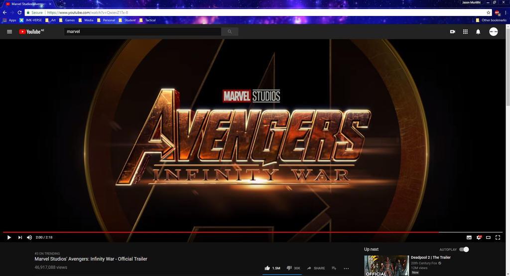 Marvel 2018 by JMK-Prime