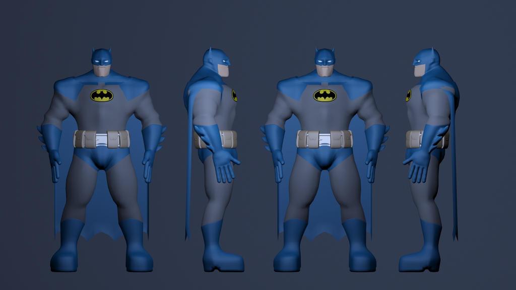 Batman: The Dark Knight - Character Sheet 1 by JMK-Prime