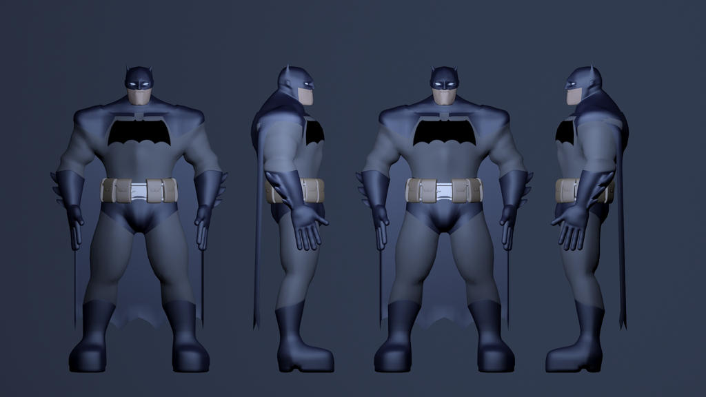 Batman: The Dark Knight - Character Sheet 2 by JMK-Prime
