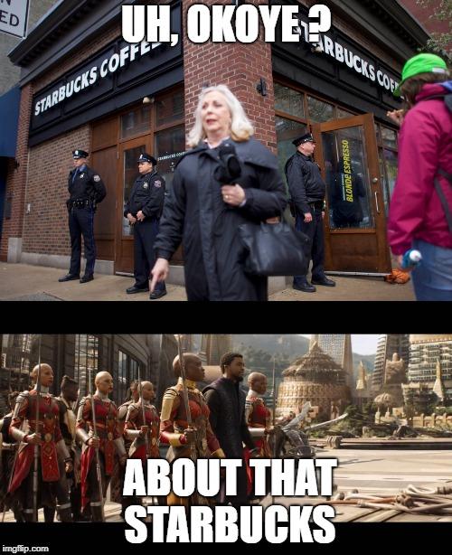 Starbucks Infinity War meme by JMK-Prime
