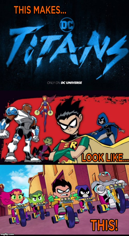 The New Titans trailer in a nutshell by JMK-Prime