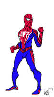 September Spidey Saturday: Insomiac Spiderman by JMK-Prime