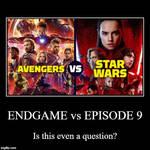 Avengers: Endgame vs Star Wars: Episode 9? (Poll)