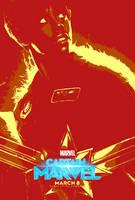 Marvel March #21.7 - Captain Marvel (2019) by JMK-Prime