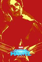 Marvel March #21.8 - Captain Marvel (2019) by JMK-Prime