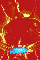 Marvel March #21.9 - Captain Marvel (2019) by JMK-Prime