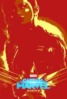 Marvel March #21.91 - Captain Marvel (2019) by JMK-Prime