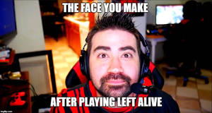 Angry Joe please review Left Alive by JMK-Prime