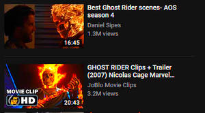 Ghost of rider's past