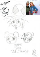 Me and Tara Strong by JMK-Prime