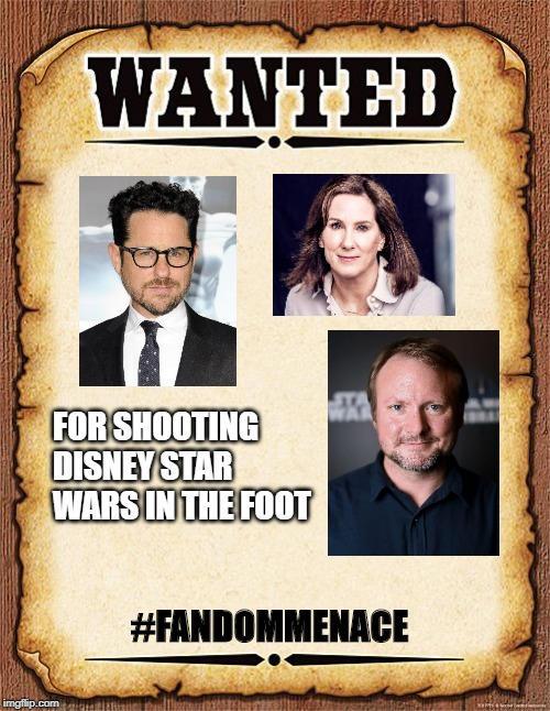 Crimes against Lucasfilms