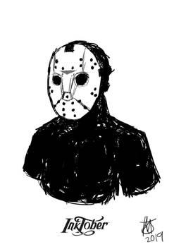 Inktober 2019 Day 13: Jason