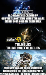The worst games in the past three years