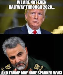 USA vs Iran 2020